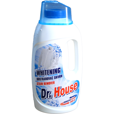 Dr. House odstraňovač skvrn Whitening 1,5 L