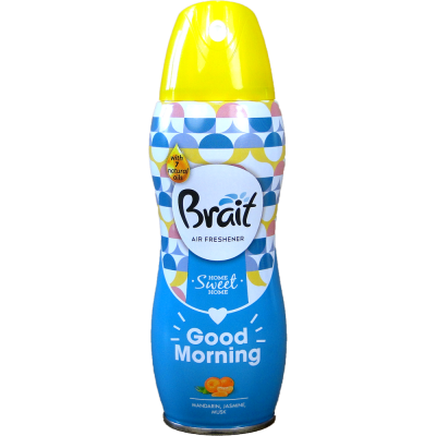 Brait osvěžovač vzduchu Good Morning mandarinka,jasmín (suchý) 300 ml
