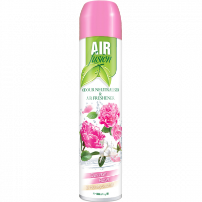 Osvěžovač vzduchu Air Fusion Damasténská růže 300 ml