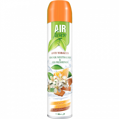 Osvěžovač vzduchu Air Fusion Pomeranč a santalové dřevo 300 ml