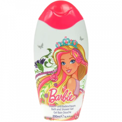 Disney sprchový gel a pěna Barbie 200 ml