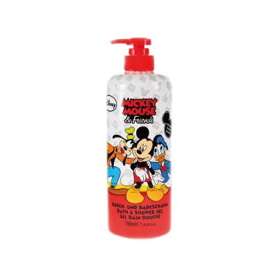 Disney sprchový gel a pěna Mickey Mouse & Friends 750 ml