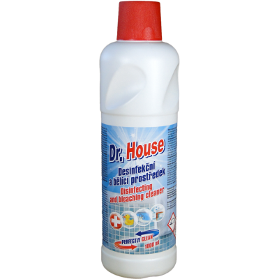 Dr. House dezinfekční a bělící prostředek 1 L