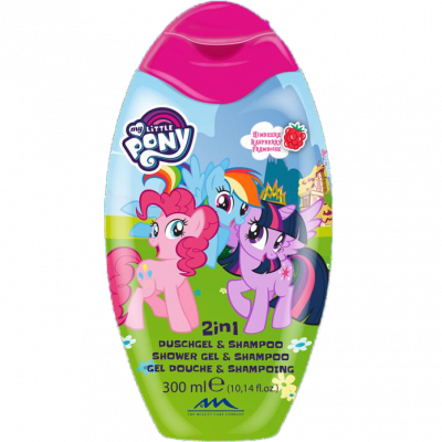 Disney sprchový gel a šampon My Little Pony 300 ml