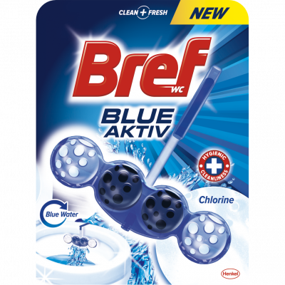 BREF blue active Chlorine Blue Water (tekoucí) 50 g