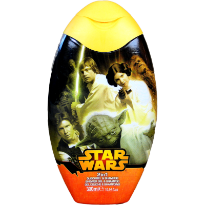 Disney sprchový gel a šampon Star Wars 300 ml