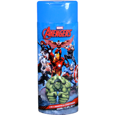Marvel Avengers 2v1 šampon a condicioner 400 ml