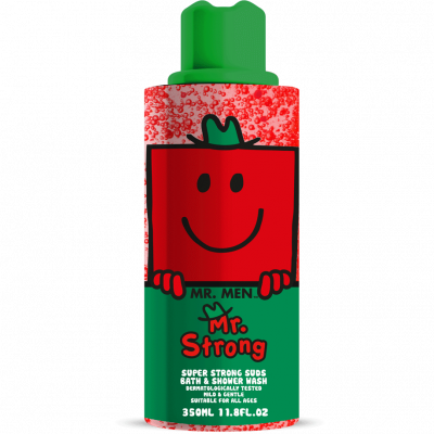 Mr. Strong sprchový gel a pěna do koupele 350 ml