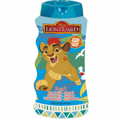 Lion Guard 2v1 šampon a pěna do koupele 475 ml