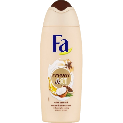 Fa sprchový gel Cream & oil cacao butter 250 ml