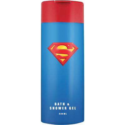 Superman sprchový gel a pěna do koupele 400 ml
