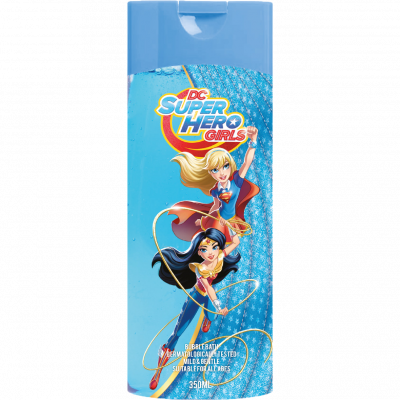 Super Hero Girls pěna do koupele 350 ml