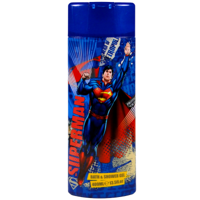 Superman sprchový gel a pěna do koupele 350 ml