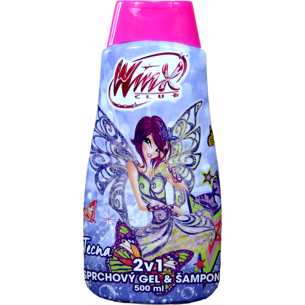 Winx club sprchový gel + šampon TECNA 500 ml