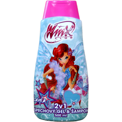 Winx club sprchový gel + šampon LAYLA 500 ml