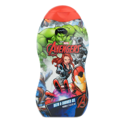 Marvel Avengers sprchový gel a pěna do koupele 350 ml