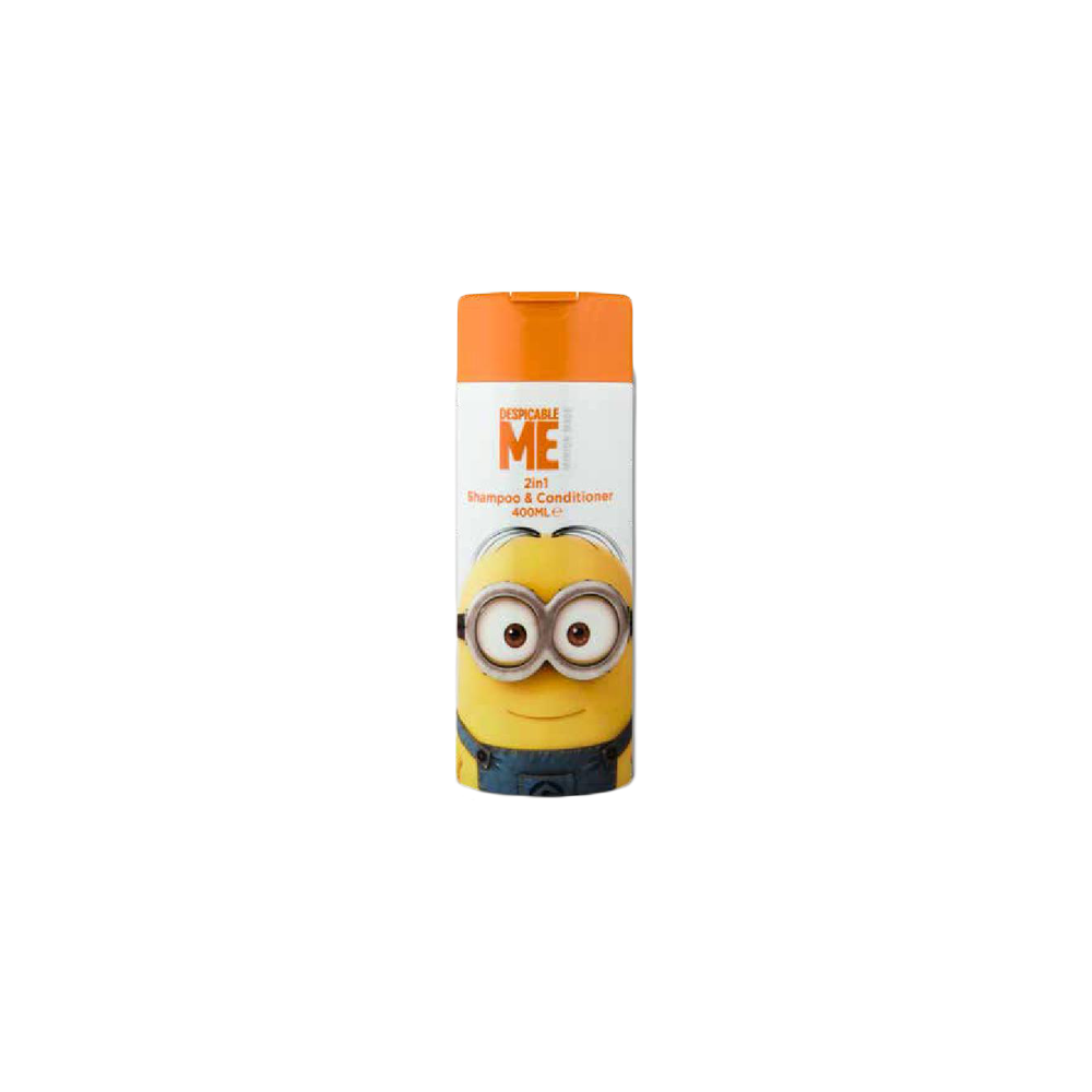 Minions made 2v1 šampon a kondicionér 400 ml