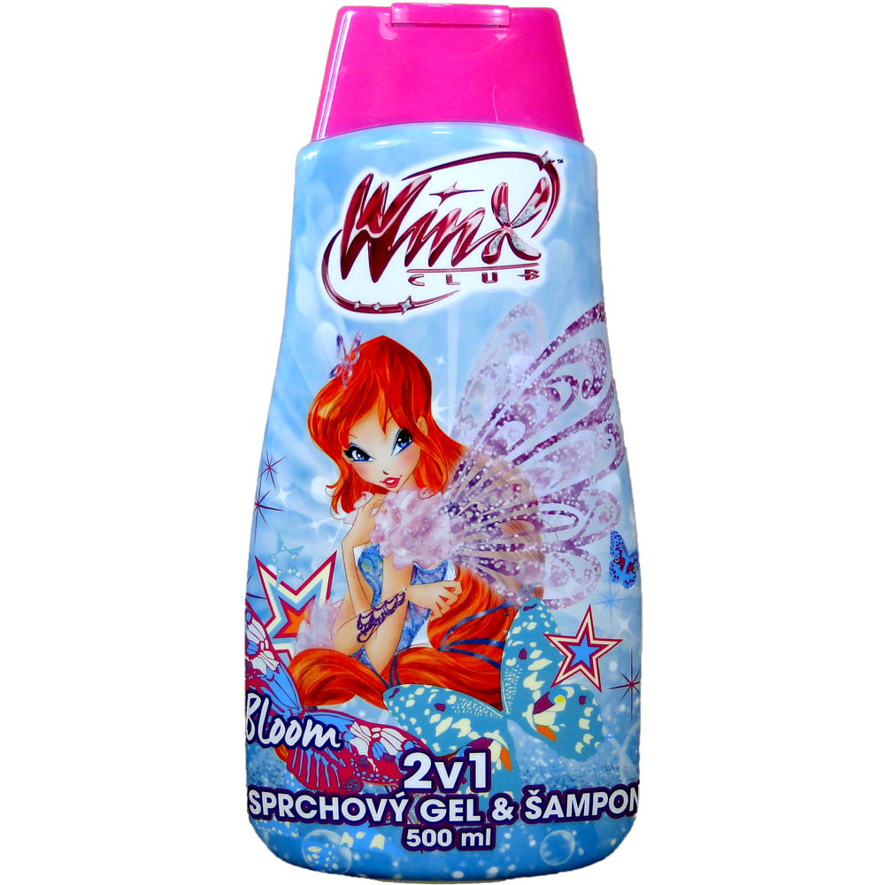 Winx club sprchový gel + šampon BLOOM 500 ml