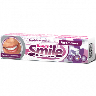 Smile Beauty zubní pasta FOR SMOKERS 100 ml
