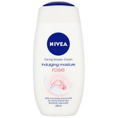 Nivea sprchový gel Rose 250 ml