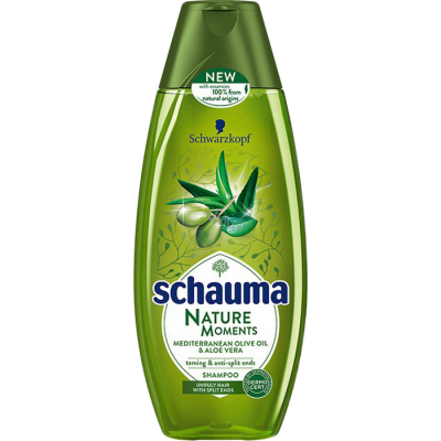 Schauma Nature moments Olivový olej a aloe vera 400 ml
