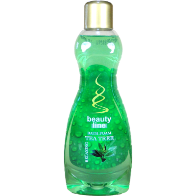 Beauty line pěna do koupele Tea Tree 1 L