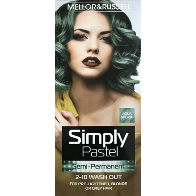 Simply Bright permanetní barva Aqua Splash (Vegan) 35+35m