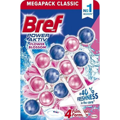 BREF power activ 4 květ 3x50 g