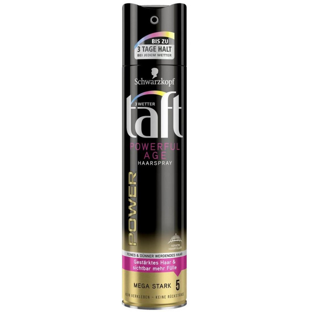 TAFT lak na vlasy Powerfulage mege 5 250 ml