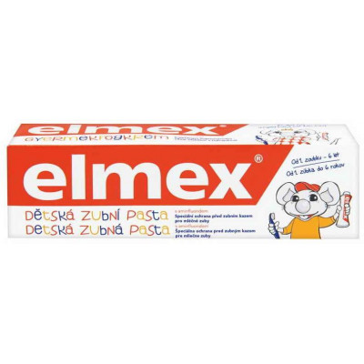 Elmex zubní pasta Junior 0-6 let 50 ml