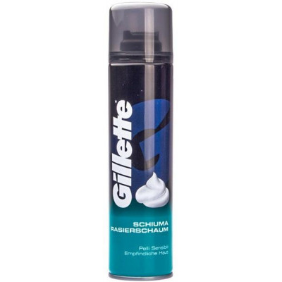 Gillette pěna na holení Sensitive 300 ml