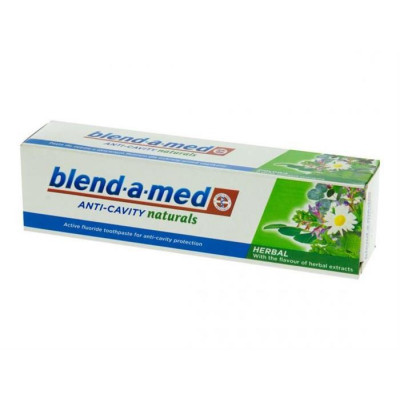 Blend-a-med anti-cavity naturals Herbal zubní pasta 50 ml