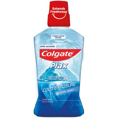 Colgate Plax ústní voda Cool Mint cold exposure 500 ml