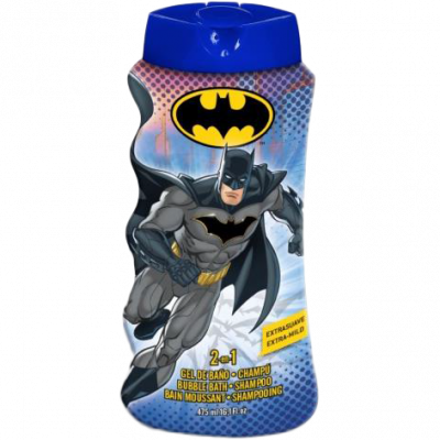 Batman 2v1 šampon a pěna do koupele 475 ml