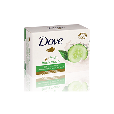 Dove toaletní mýdlo Fresh touch 100 g