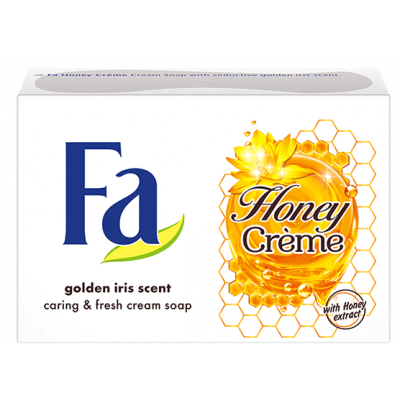 FA mýdlo cream Honey creme golden iris scent 90 g