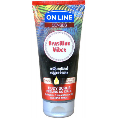 On line tělový peeling Brasilian Vibes 200 ml