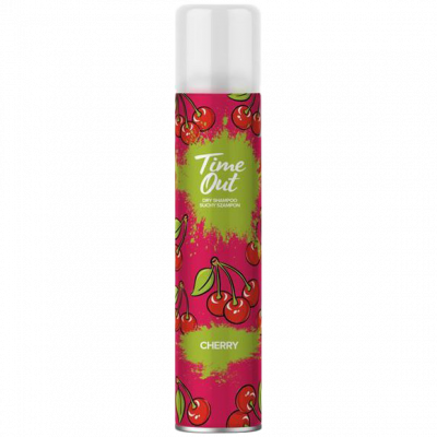Time out suchý šampon Cherry 200 ml