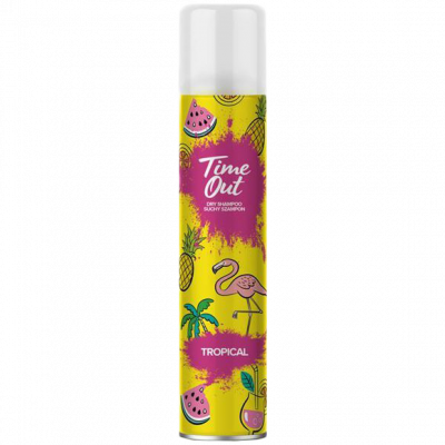 Time out suchý šampon Tropical 200 ml