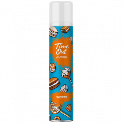 Time out suchý šampon Sweets 200 ml