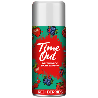 Time out suchý šampon Red berries 75 ml