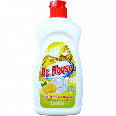 Dr. House na mytí nádobí lemon 500 ml