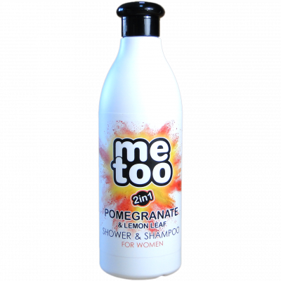 Me too sprchový gel a šampon Pomegranate & Lemon 500 ml