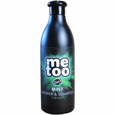 Me too pánský sprchový gel a šampon MINT 500 ml