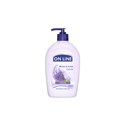 On line tekuté mýdlo s dávk. levandule 500 ml
