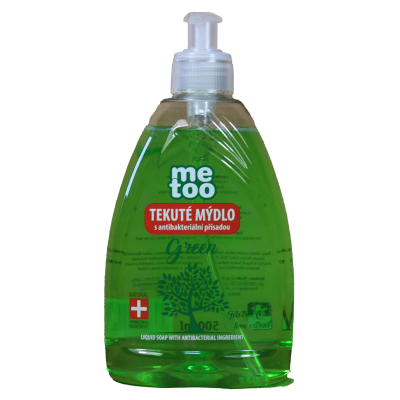 Me too tekuté mýdlo s antibakteriální přísadou Green 500 ml