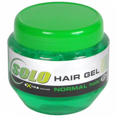 Gel na vlasy SOLO normal hold zelený 250 ml