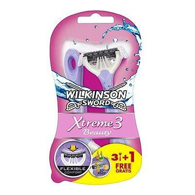 Wilkinson Xtreme 3 woman Beauty sensitiv 3+1