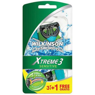 Wilkinson Xtreme 3 men sensitiv 3+1