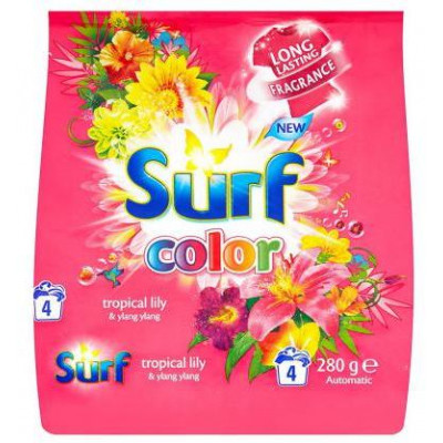 Surf Color prací prášek tropical 4W 280 g